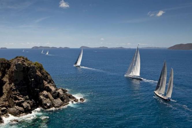 Loro Piana Caribbean Superyacht Regatta and Rendezvous 2012 - Photo by Jeff BrownSYM