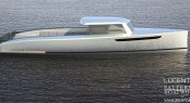 Lucent 44 yacht tender by Patterson Boatworks and Van Geest
