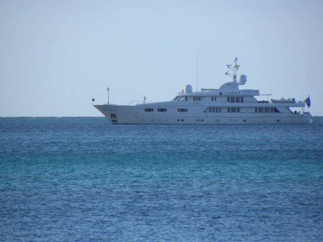 Luxury Yacht Lady M - Photo by Scott Henderson