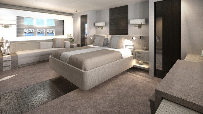 Luxury motor yacht Pearl 75 - Interior