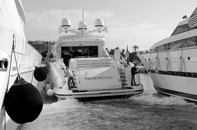 Italyachts 34 01 Motor Yacht Phoenician Delivered By