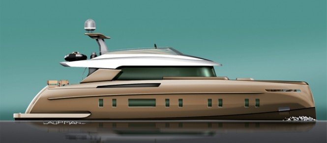 Luxury motor yacht STORM 78 designed by Omega Architects