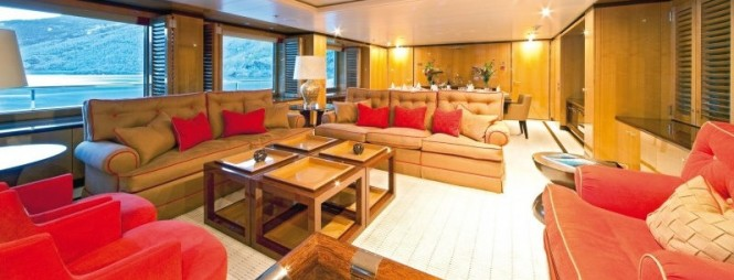 Luxury motor yacht Step One - Interior
