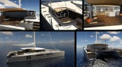 Luxury sailing yacht VPLP 78 design