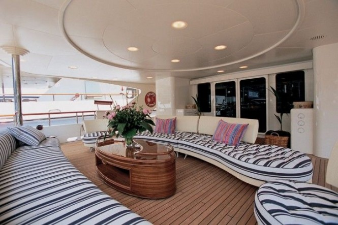 Luxury superyacht JO