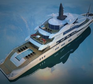 Motor yacht Miss Tor Custom 230 in build at Orucoglu Shipyard