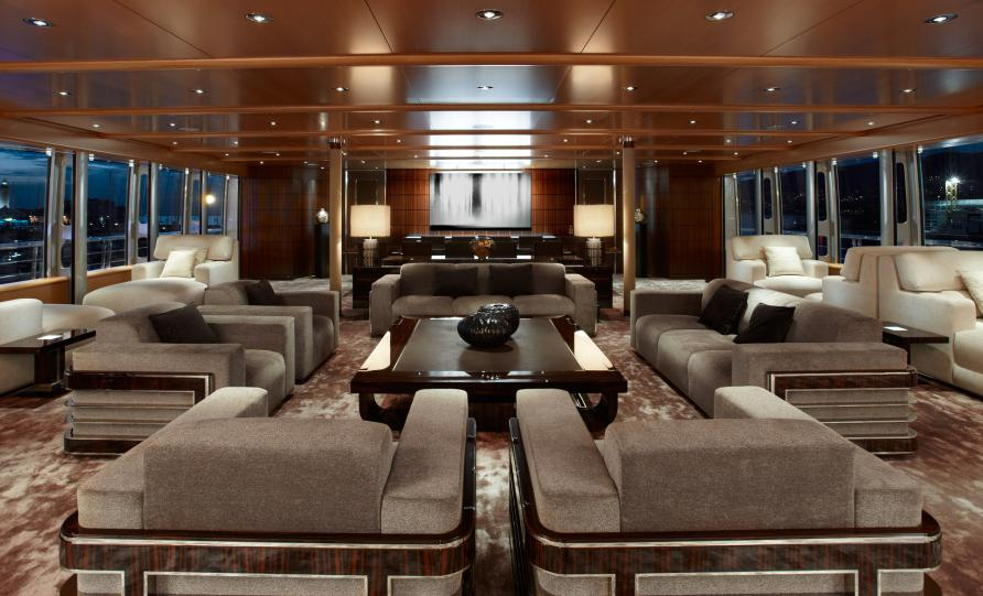 luxury yacht musashi interior image courtesy of sinot yacht design