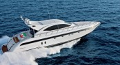 Mangusta 72 Yacht running