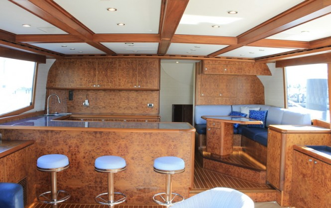 McMullen and Wing built Jaruco yacht - Interior