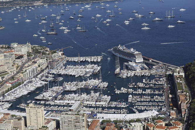 Monaco hosting the prestigious Monaco Yacht Show 2012 - Photo by Guillaume Plisson