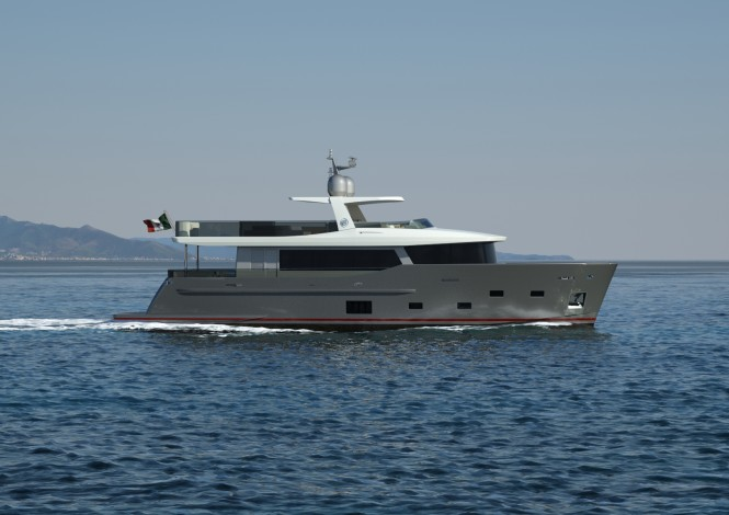 Nauta Air 88 Explorer Yacht by Cdm and Nauta Yacht Design