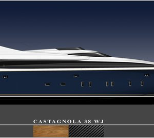 CNT - Castagnola starts construction of the new all wooden motor yacht Castagnola 38 WJ
