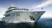 New Horizon P136 Superyacht Model
