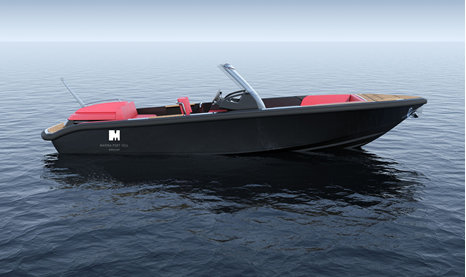 New Windy SR26 superyacht tender designed by EYOS Tenders