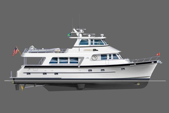 New 720 DeluxBridge yacht by Outer Reef