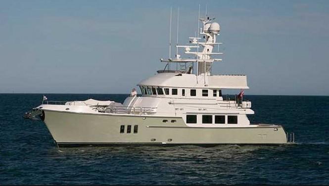 Nordhavn 76 motor yacht Tortuga