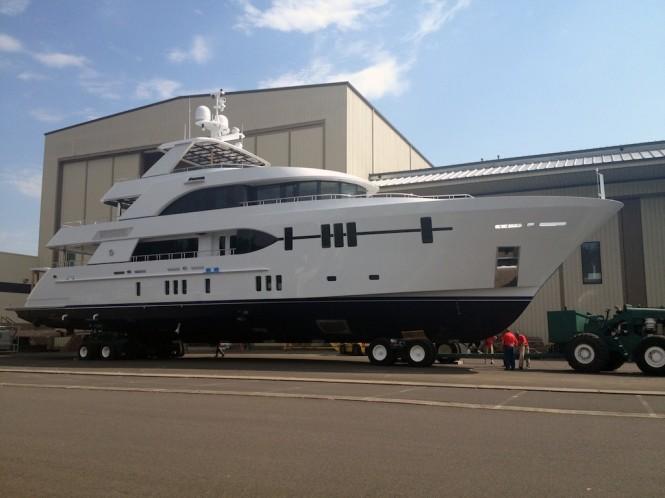 Ocean Alexander 120 Yacht - Image courtesy of Ocean Alexander