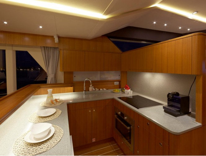 OceanClass 70 yacht - Galley