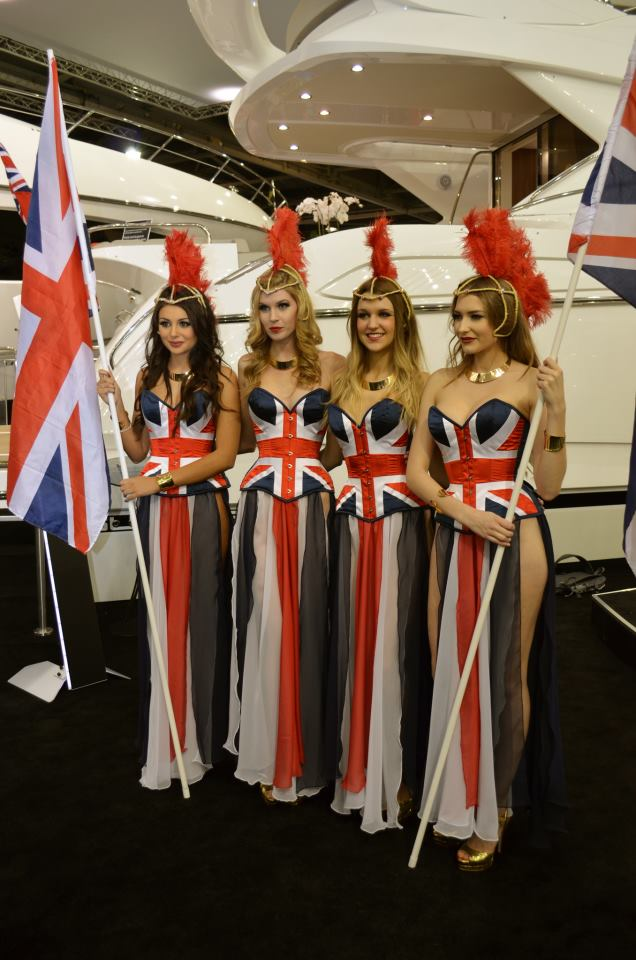 Opening of the Sunseeker International stand at London Boat Show 2013
