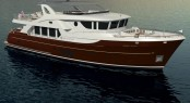 Rendering of Ocean Explorer series yacht Selene 92 by Selene Yachts