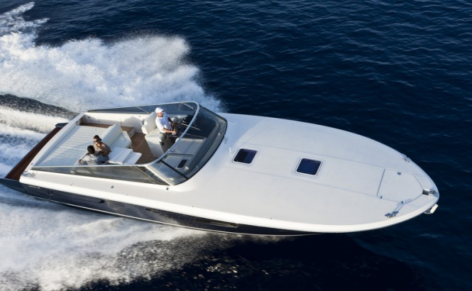 Rivarama Itama 45 superyacht tender to be displayed by Ferretti Group in Dusseldorf