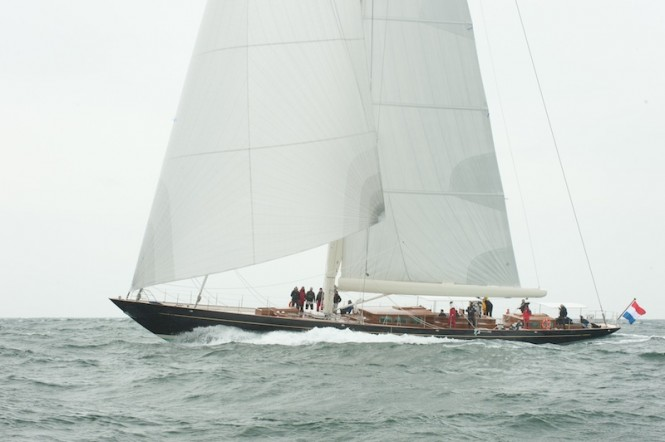 Royal Huisman sailing yacht PUMULA (Project Bugamena) - Photo by Hans Westerink