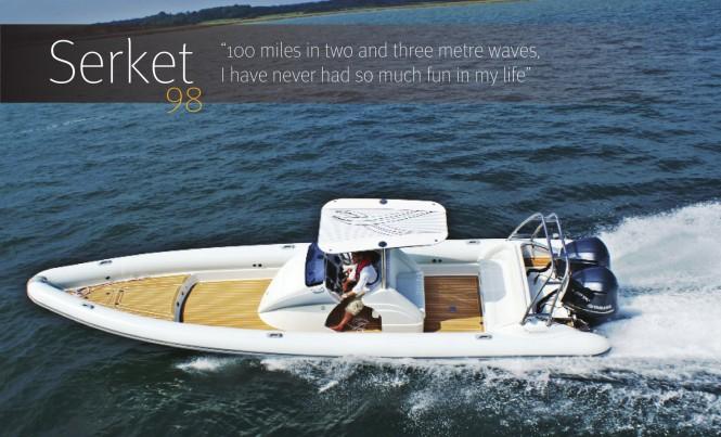 Scorpion Serket 98 yacht tender