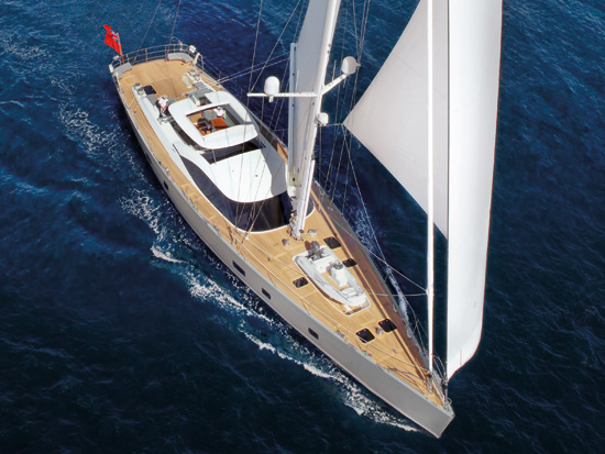 Second Oyster 100 superyacht Penelope designed by Dubois Naval Architects