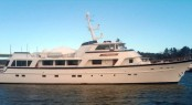 32 m Burger Boat luxury yacht Stoneface refitted by Front Street Shipyard