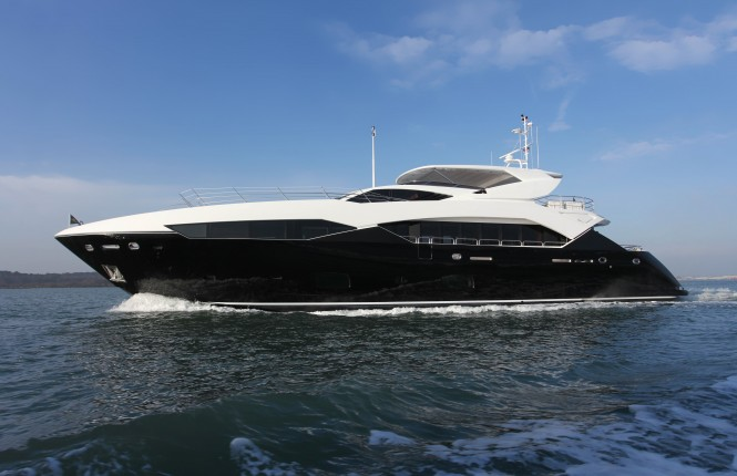 Sunseeker 115 Sport Yacht - Image courtesy of Sunseeker International