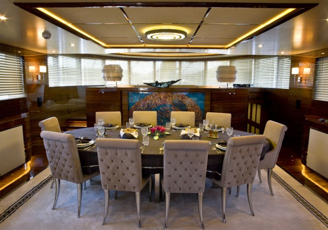 Superyacht 60 Years - Dining