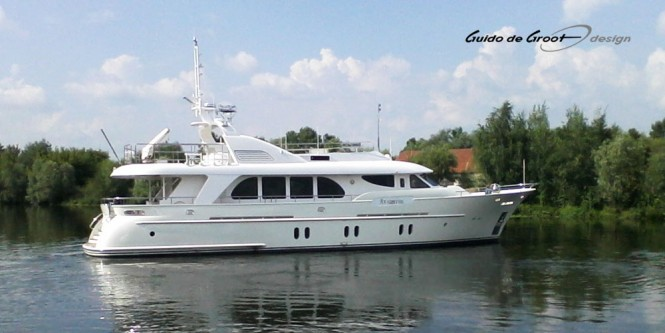 Timmerman 26 yacht Atlantic designed by Guido de Groot