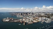 Wynyard Quarter situated in a beautiful NZ yacht charter destination - Auckland