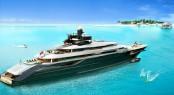 110 m Oceanco superyacht DP002 concept designed by Nuvolari Lenard