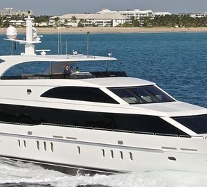 Changes to Hargrave's starting yacht line-up at Miami Boat Show
