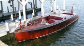 26 Traditional Triple Cockpit Yacht Tender by Hacket Boat Company