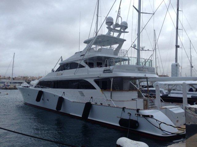 43 m Trinity Sportfish Yacht Marlena equipped with Seakeeper gyros