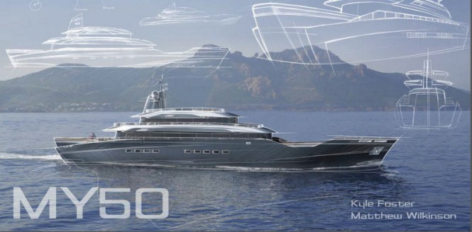 50 m Wilkinson and Foster Superyacht Conversion Project