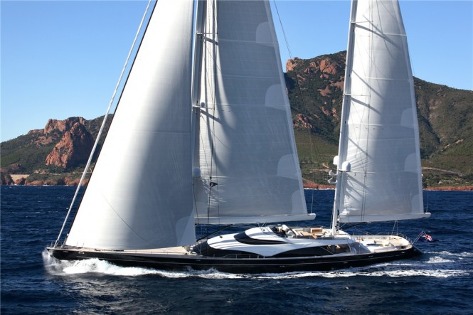 57m Royal Huisman superyacht Twizzle