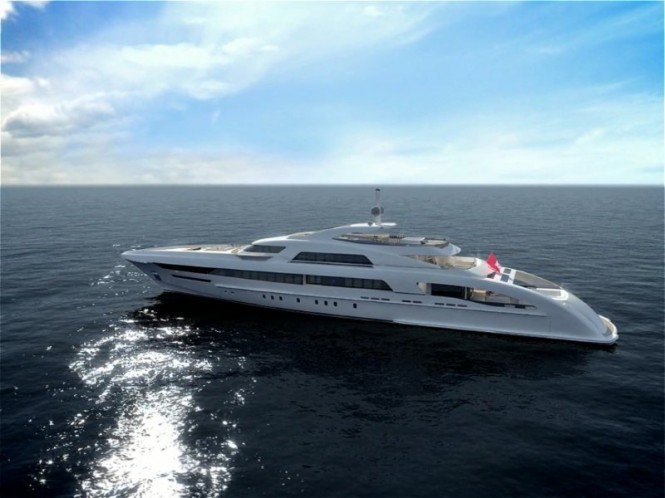 65 m Heesen mega yacht Project Omnia to be equipped with five Seakeeper M21000 gyros
