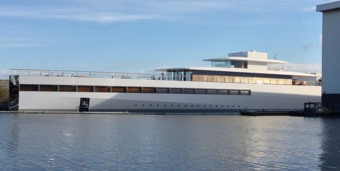 78 m Feadship superyacht VENUS - Photo Courtesy of OneMoreThing.nl