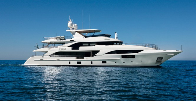 Benetti Classic Supreme 132 Yacht Petrus II to make her debut at Miami Boat Show - Photo by Thierry Ameller