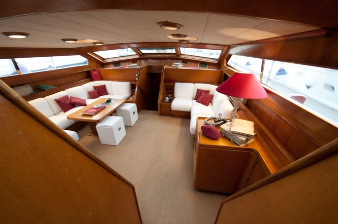 Charter Yacht MY LOTTY - with interior by Giovanna Locatelli and refitted by BR1 Ltd