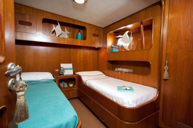 Charter yacht My Lotty - twin cabin