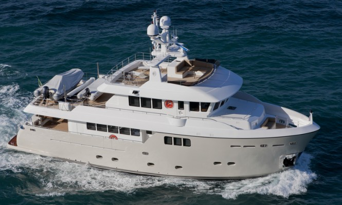 Darwin Class 86 superyacht Percheron by CdM Yachts - Photo by Maurizio Paradisi
