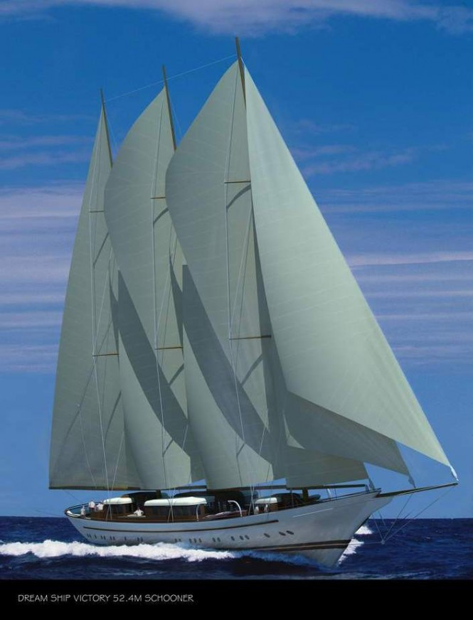Dream Ship Victory Classic Schooner  Mikhail S. Vorontsov
