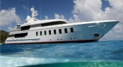 Feadship superyacht Helix based on the same F45 Vantage concept as luxury yacht Blue Sky