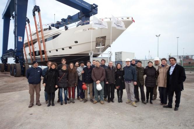 Ferretti Custom Line 124 hull 4 Yacht