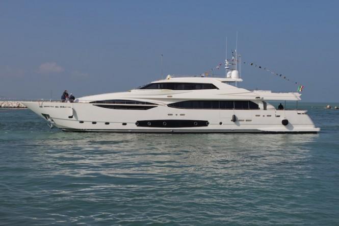 Ferretti Custom Line 124' superyacht - Hull 4