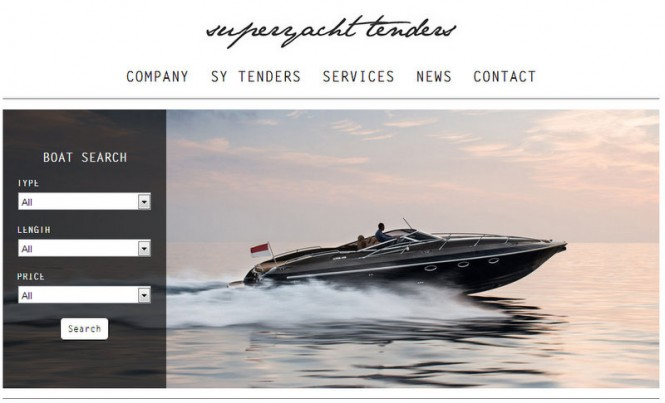 First Dedicated Yacht Tender Site Launched by Superyacht Tenders